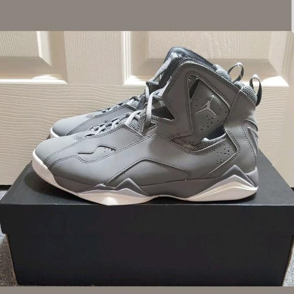 size 40 a60da daede Jordan True Flight Cool Grey White Men s Shoes 342